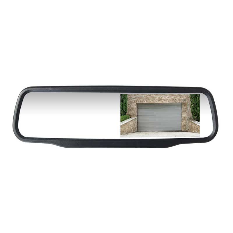 Mirror Screen, Clip on 4""