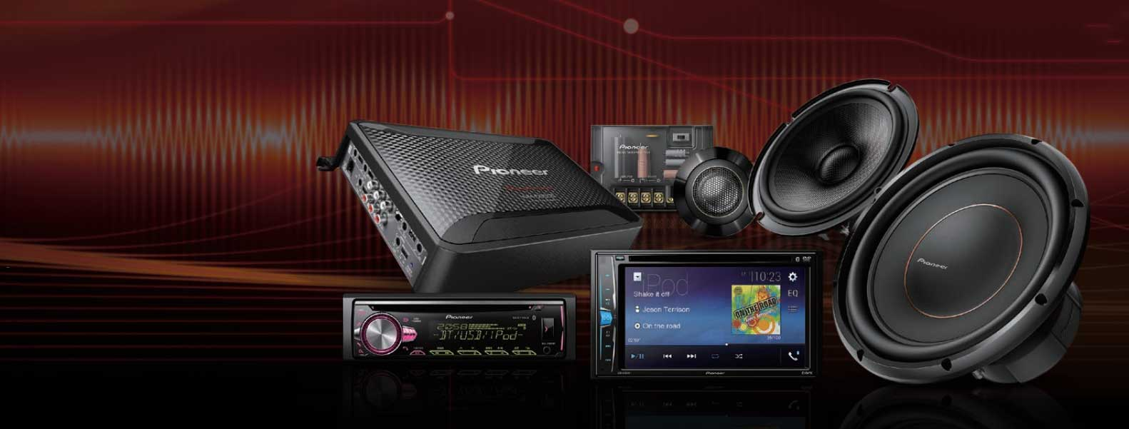 Pioneer Car Audio NZ